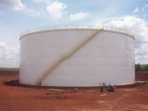 Tanque de armazenamento de Etanol